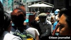 Encarcelados cuatro jóvenes que protestaron en Centro Habana