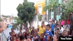 Reporta Cuba Fiesta con Niños Santiago de Cuba enero 16.