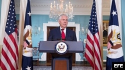 Rex Tillerson desmiente las informaciones sobre su renuncia como secretario de Estado.