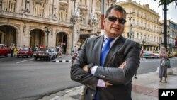 Rafael Correa estuvo en La Habana, Cuba, en abril de 2018.