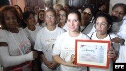 Nominan en EE.UU a Damas de Blanco para Premio Nobel de la Paz 2013