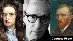 Isaac Newtor, Woddy Allen y Vincent Van Gogh han sido genios afectados por el trastorno emocional.