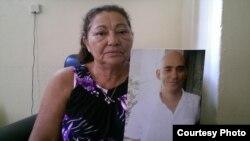Francisca Rodríguez, madre del preso Antonio Ortiz, relacionado con el caso yasmai Tomás/ Cortesía Cubanet