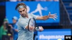 Federer venció a Gasquet
