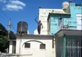 En Youtube: machete en mano, Ramón reclama a viva voz libertad para su esposa.