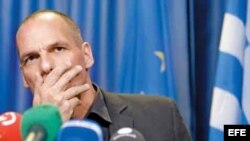 Ministro griego de economía, Yanis Varoufakis