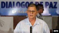 """Rodrigo Granda, alias """"Ricardo Téllez"""", comandante de las FARC, en La Habana, Cuba."""