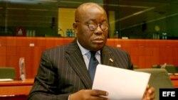 Candidato presidencial ghanés Nana Akufo-Addo
