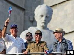 Las reivindicaciones laborales estuvieron ausentes durante el desfile del 1 de Mayo en Cuba.