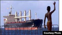 El carguero de bandera mexicana Ikan Mazatlan fue el segundo en llevar a Cuba alimentos estadounidenses, en diciembre del 2001.