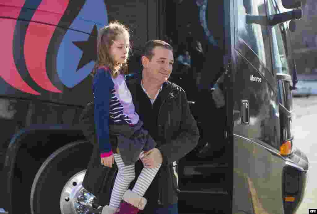 Campaña de Ted Cruz en Jefferson, Iowa