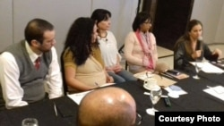 Reunión en la sede de la Asociación Civil El Paso (RRSS)