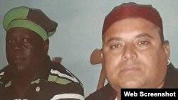 Jonniel Rodríguez Riverol (derecha). (Foto tomada de Facebook)