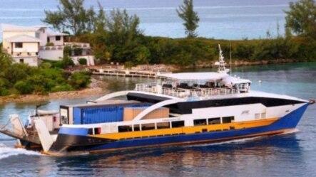 El ferry con el que Cubakat quiere operar el viaje a Cuba.