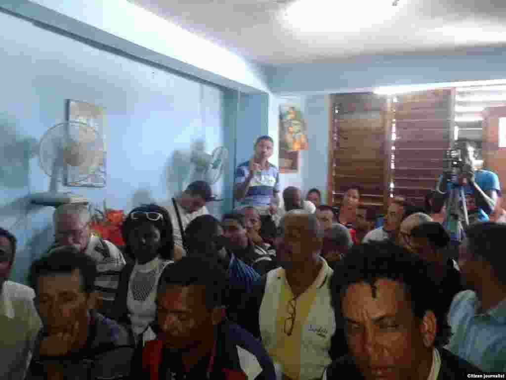 Sociedad Civil Independiente, Cumbre paralela, Oriente Cubano.Foto UNPACU