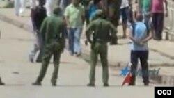 Testimonio de activistas que protestaron por un hecho de abuso policial