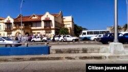 Reporta Cuba. Arrestos en La Habana (febrero). Foto: Lázaro Yuri Valle.