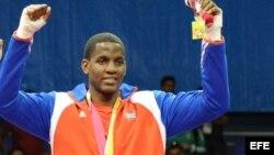 El cubano Robelis Despaigne ganó medalla de oro en los Juegos Panamericanos Guadalajara 2011.