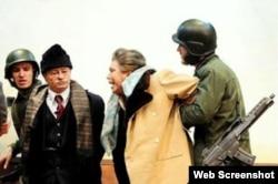 Ceaucescu y su mujer, Elena, vicepresidenta del Gobierno, en el momento de su detención.