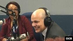 Rudy Díaz en el Programa Con Voz Propia.