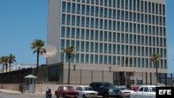 Oficina de Intereses en Cuba.