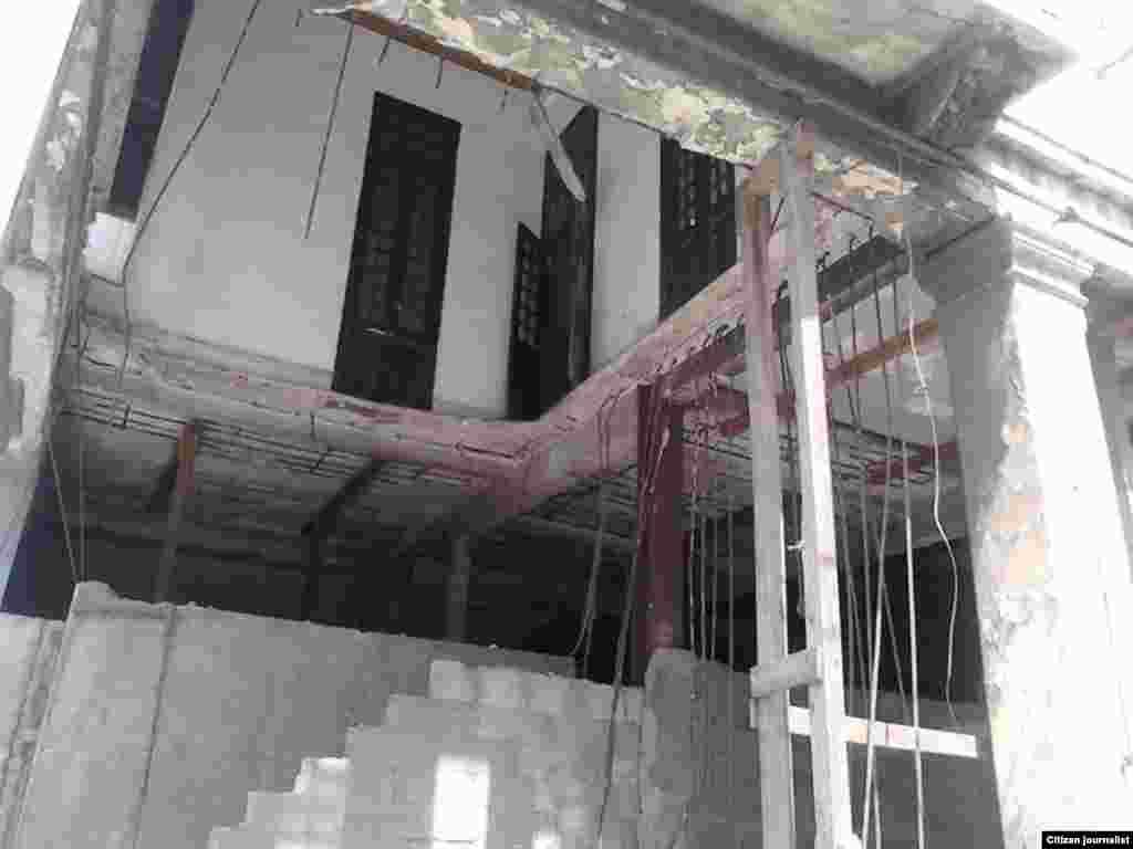 foto/Billy J. Landa / edificio peligro derrumbe