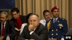 El presidente de la Asamblea Nacional, Diosdado Cabello.