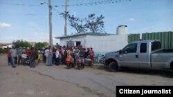 La venta del gas en Camagüey
