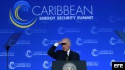 Joe Biden, vicepresidente de Estados Unidos, organiza la Cumbre de Energía.