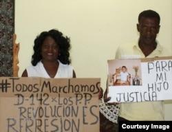 Berta Soler y el cubano Julio Hernández fueron detenidos cuando salían de la sede de las Damas de Blanco en Lawton.