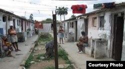 Cuartería levantada en La Habana.
