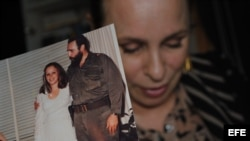 Alina Fernández, la hija de Fidel Castro
