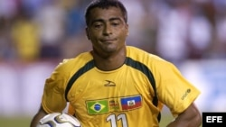 Foto de archivo del exfutbolista Romario de Souza.