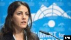 Rosa María Payá agradece apoyo de UPyD