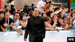 El director chino Zhang Yimou.