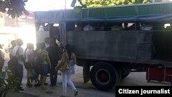 Reporta Cuba transporte Foto José Augusto