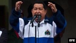 Según la firma International Consulting Services, Chávez tendría 60 por ciento de apoyo.