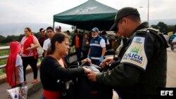 Cúcuta, la vía de escape de miles de venezolanos que huyen de la dictadura.