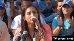 Patricia Ceballos, candidata de Voluntad Popular para el municipio de San Cristóbal