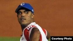 El lanzador cubano Miguel Alfredo González Puebla.