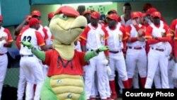 El equipo Cocodrilos de Matanzas, en la 54 Serie Nacional de Béisbol, de Cuba