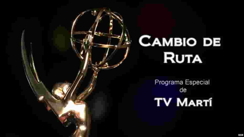 Emmy 2015 - Cambio de Ruta