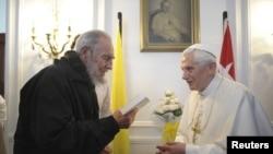 El encuentro de Benedicto XVI y Fidel Castro