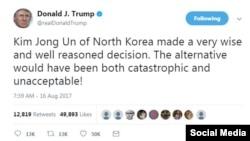 Twitter @realDonaldTrump.