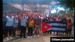 Reporta Cuba UNPACU Democracia y Libertad diciembre 18 Palma Soriano