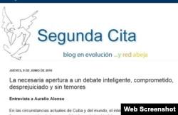 Entrevista de Cuba Posible reproducida en el blog Segunda Cita de Silvio Rodríguez