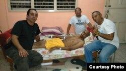 Miembro del consejo coordinador del FANTU José R Borges visita a Fariñas este 27 de agosto
