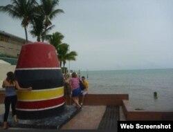 Southernmost Point, a 90 millas de Cuba. (Foto: TripAdvisor)