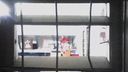 """Condiciones en que quedó la vivienda de Geordanis Muñoz en Palma Soriano. Foto enviada a sección """"Reporta Cuba"""", en martinoticias.com"""