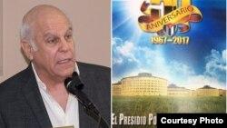 """Ramiro Gómez presenta su libro """"El Presidio Político de Isla de Pinos""""."""